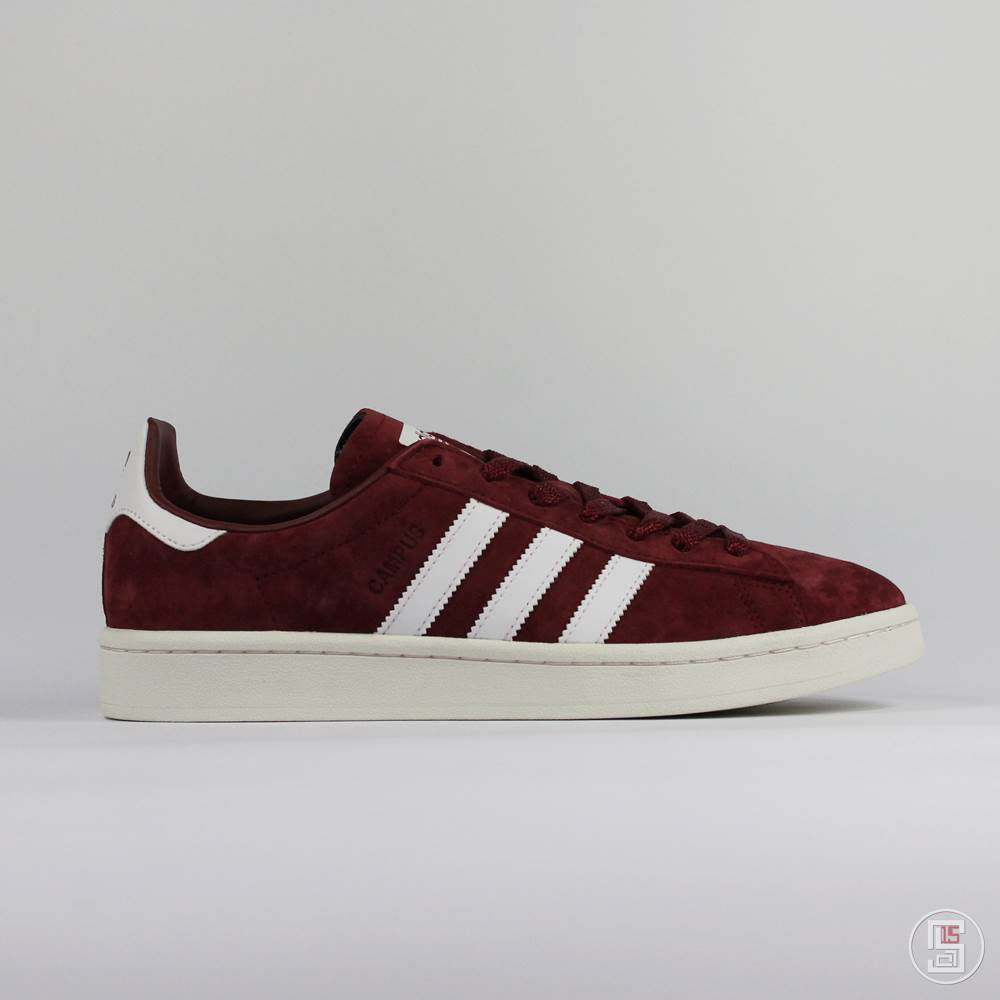 cheap prices best sneakers save off CAMPUS BORDEAUX WHITE